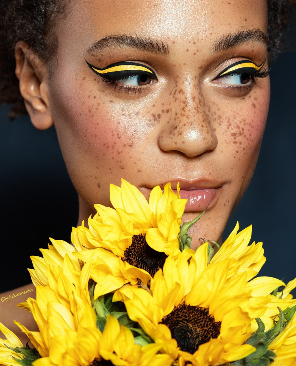 Click to Enlarge. Model: Lauren of NOUS Models, Skin work: Lupe Moreno, Makeup: Vlada Haggerty, Photo & Post: Julia Kuzmenko McKim