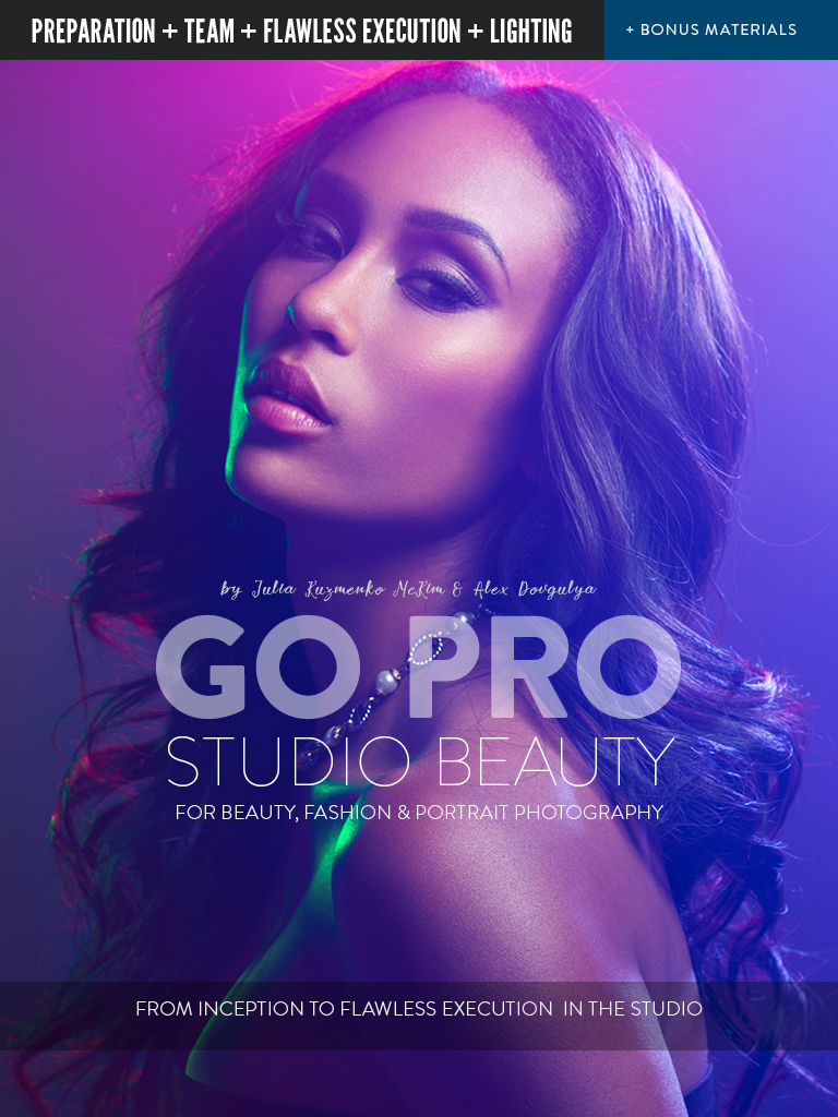 Digital Photography Book Cover : How we shot it glow makeup lighting master beauty