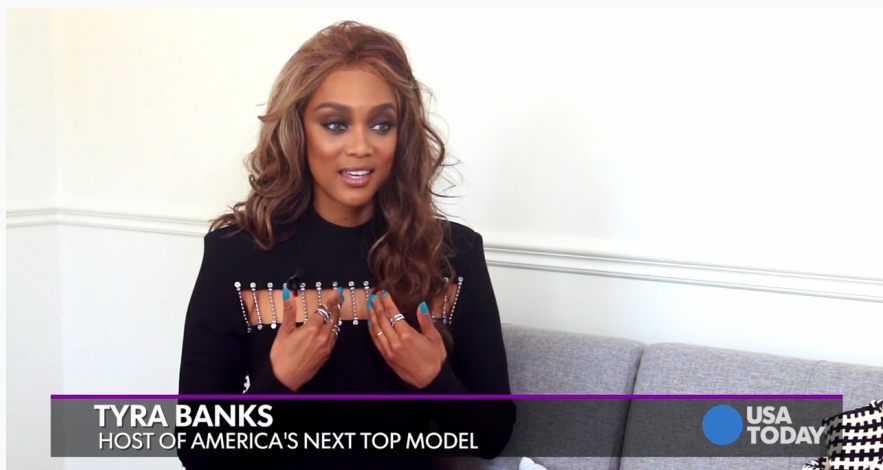 Tyra Banks Shares a Few Great Tips for Our Models