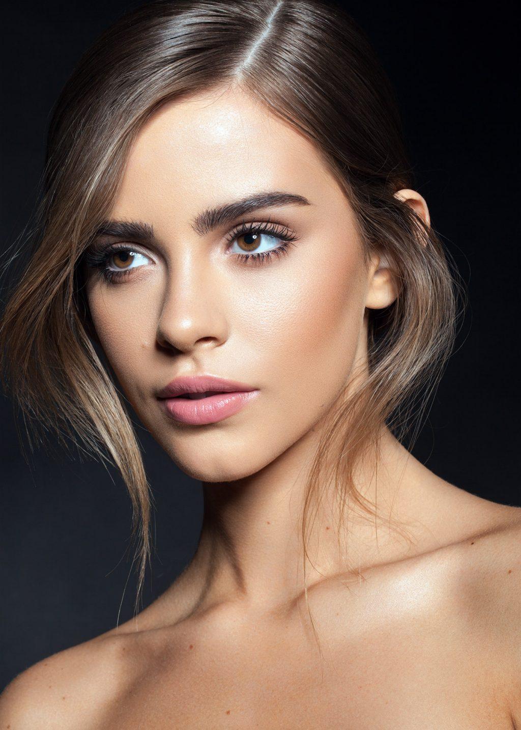 Click to enlarge. Model: Bridgetsatterlee of NOUS models + flawless makeup by Ernesto Casillas and hair by Raoul Alejandre photo & post by Julia Kuzmenko