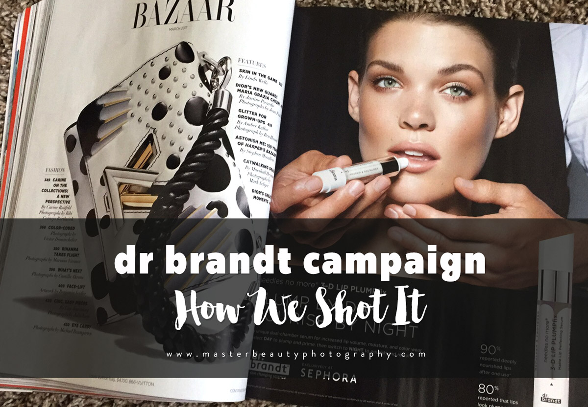 How We Shot It | Dr Brandt Skincare Campaign